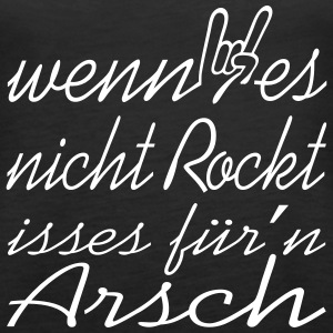 rock rockt musik Tops - Frauen Premium Tank Top
