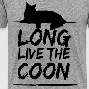 Long Live The Coon T-Shirt - Männer Premium T-Shirt