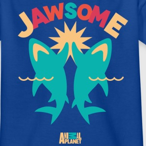 Animal Planet Haie High-Five Jawsome - Teenager T-Shirt