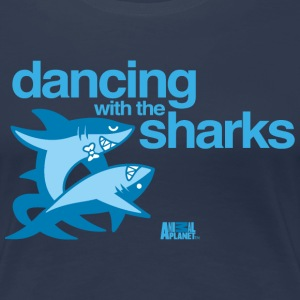 Animal Planet Humour Dancing With The Sharks - Women's Premium T-Shirt