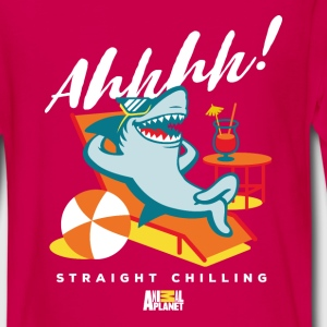 Animal Planet Hai Im Urlaub Straight Chilling - Teenager Premium Langarmshirt