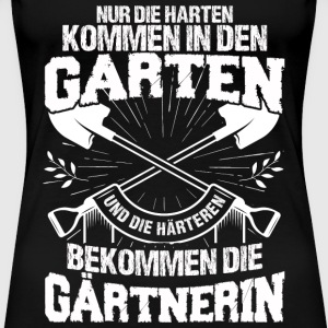 Gärtnerin - T Shirt  - Frauen Premium T-Shirt