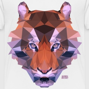 Animal Planet Raubkatze Tiger Geometrisch - Kinder Premium T-Shirt
