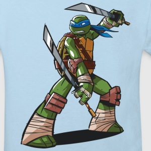 TMNT Turtles Leonardo Ready For Action - Ekologisk T-shirt barn