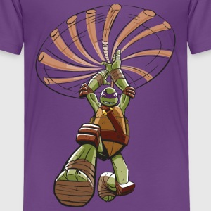 TMNT Turtles Donatello Ready For Action - Premium-T-shirt barn