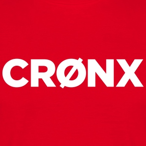 Cronx Brand Tee - Red - Men's T-Shirt