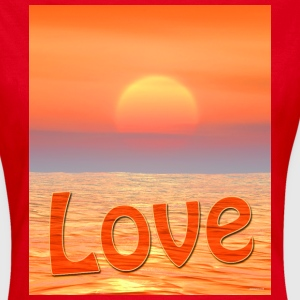Sunset Love - Women's T-Shirt