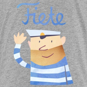 'Hello' Fiete Kids Shirt - grey - Kinder Premium T-Shirt