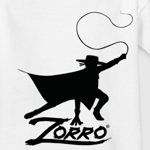 Zorro The Chronicles Silhouette With Whip - T-shirt tonåring