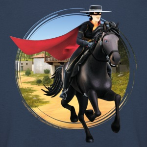 Zorro The Chronicles Riding Horse Tornado - Maglietta Premium a manica lunga per bambini