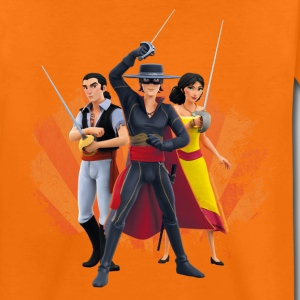 Zorro The Chronicles Ines Bernardo Don Diego - Maglietta Premium per bambini