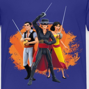 Zorro The Chronicles Ines Bernardo Don Diego - Børne premium T-shirt