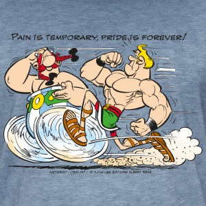 Asterix & Obelix - Pain is temporary - Vintage-T-shirt herr