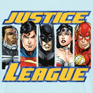 DC Comics Justice League Group Picture - T-skjorte for menn