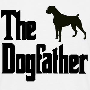 Dog,Father Boxer - Men's T-Shirt