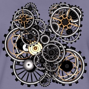 Steampunk Gears on your gear No.2 Women's Premium  - Women's Premium T-Shirt