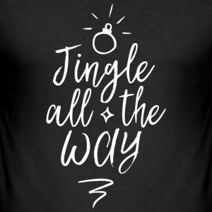 Jingle all the way Tee shirts - Tee shirt près du corps Homme