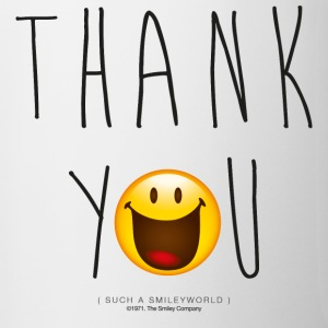 Smileyworld Thank You - Tazze bicolor