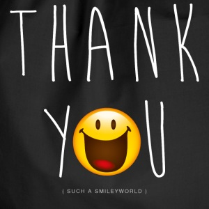 Smileyworld Thank You - Sacca sportiva