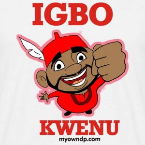 Igbo Kwenu - Men's T-Shirt