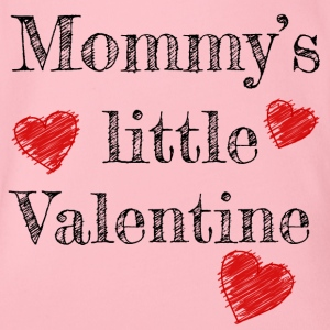 Saint-Valentin Maman Mommy's Little Valentine - Body bébé bio manches courtes
