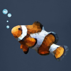 LowPoly Clownfisch Teenager Premium T-Shirt - Teenager Premium T-Shirt