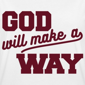 God Will Make Way Tee shirts - T-shirt oversize Femme