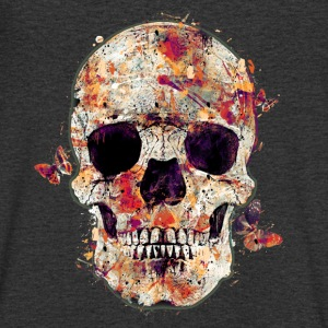 skull-and-butterfly Tee shirts - T-shirt Homme col V