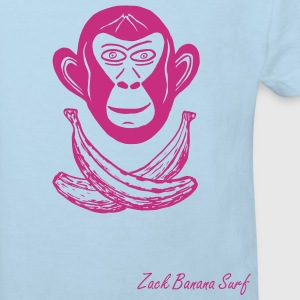 Zack Banana - BananaApe Kids Surf - Kinder Bio-T-Shirt