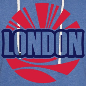 London Sweatshirts - Let sweatshirt med hætte, unisex