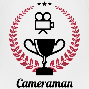 Cameraman / Camera / kameramand / kamera T-shirts - Teenager premium T-shirt