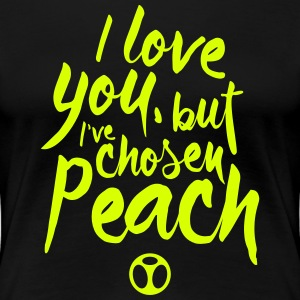 I Love Peach T-Shirts - Women's Premium T-Shirt
