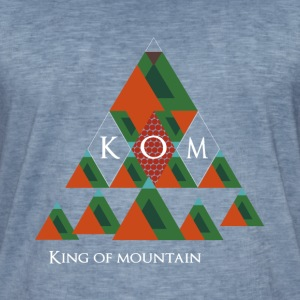 King of Mountain-KOM T-Shirts - Männer Vintage T-Shirt