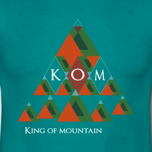 King of Mountain-KOM T-Shirts - Männer T-Shirt