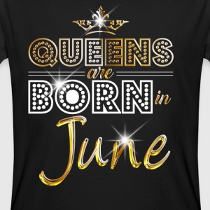 June - Queen - Birthday - 2 T-Shirts - Men's Organic T-shirt