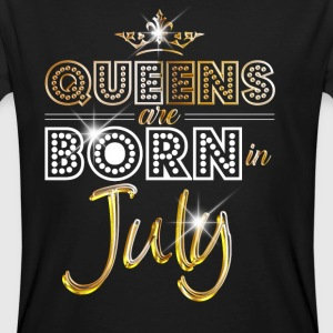 July - Queen - Birthday - 2 T-Shirts - Männer Bio-T-Shirt