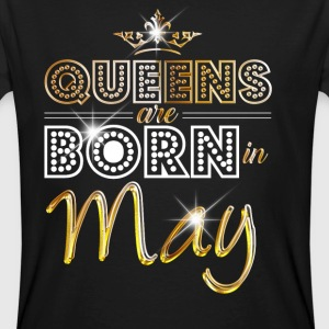 May - Queen - Birthday - 2 T-Shirts - Men's Organic T-shirt