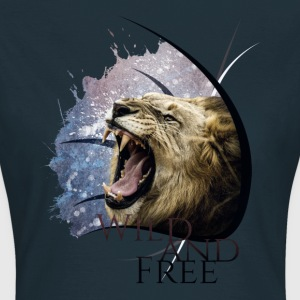 Wild and Free Frauen T-Shirt - Frauen T-Shirt
