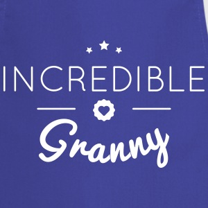 INCREDIBLE GRANNY  Aprons - Cooking Apron