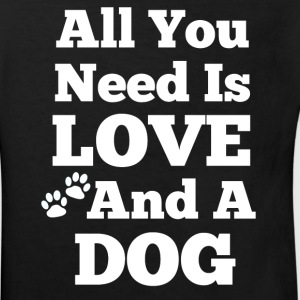 All u need is love+a dog T-Shirts - Kinder Bio-T-Shirt