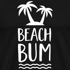 Beach Bum | Cool Summer Design T-Shirts - Männer Premium T-Shirt