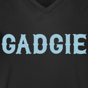 Gadgie, Newcastle Dialect T-Shirts - Men's Organic V-Neck T-Shirt by Stanley & Stella