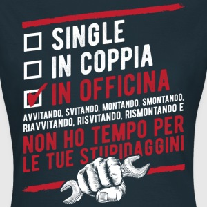 Single in coppia in officina  Tee shirts - T-shirt Femme