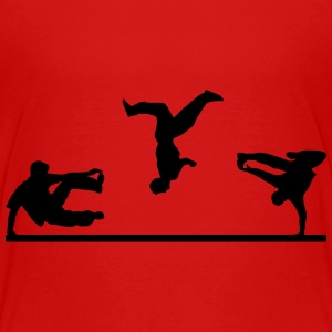 Freerunning, Free Running, Artistics Shirts - Teenage Premium T-Shirt
