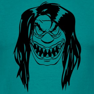 Horror klovn T-shirts - Herre-T-shirt