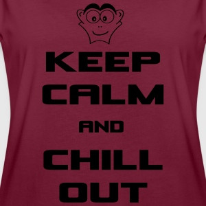keep_calm_and_chill_out T-Shirts - Frauen Oversize T-Shirt