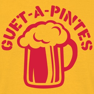 guet a pintes alcool humour biere Tee shirts - T-shirt Homme