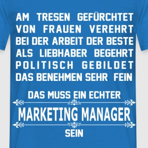 marketing_manager T-Shirts - Männer T-Shirt