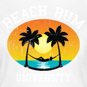 Beach Bum University | Palm - Sunset - Hammock Magliette - Maglietta da donna