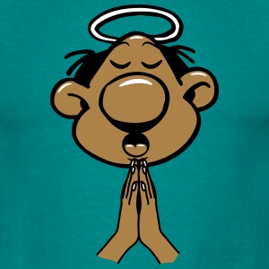 Head hands praying holy holy light T-Shirts - Men's T-Shirt